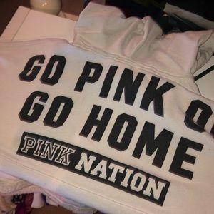 Pink nation hoodie